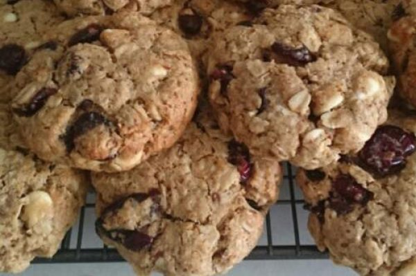 Lactation Cookies - White Chocolate and Cranberry